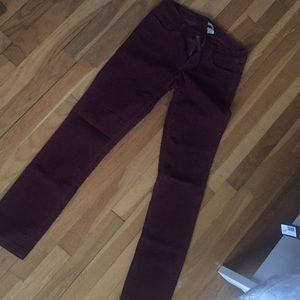 Corduroy pants size 24 short